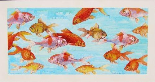 Schilderijen-vissen-Annette-de-Roo-00001