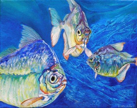 Schilderijen-vissen-Annette-de-Roo-00005
